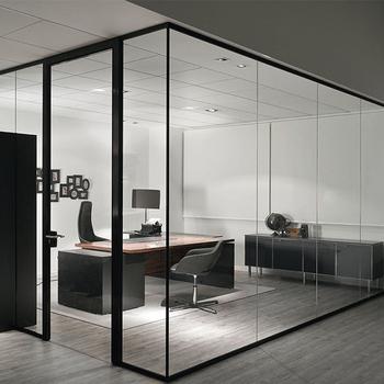 Wohnzimmer Design Trennwand Klar Farbe Glas Trennwand - Buy ...