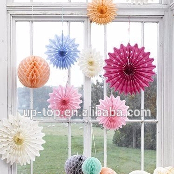 1st First Birthday Party Decorations Honeycomb Balls Centrepiece