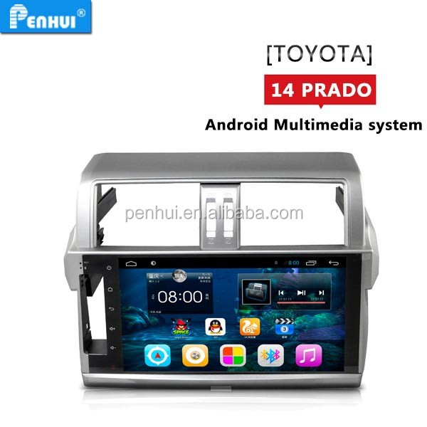 Android 4.4 Car GPS player for 2014 <strong>prado</strong> SUPOORT Bluetooth-Enabled, CD/MP3/MP4 Player, Radio <strong>Tuner</strong>