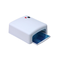 2017 High Power 818 uv nail lamp 36W UV Gel Nail Dryer with Sliding Tray
