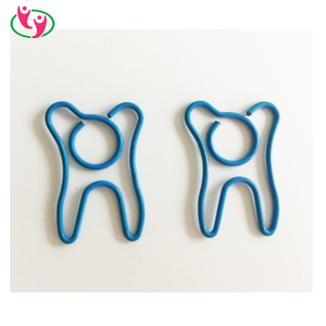 Ideal Detal Promotional Gift Tooth Shaped Paper Clips
