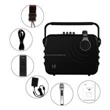 Exquisite Fashion K5 60W portable pa system voice speaker for outdoor use