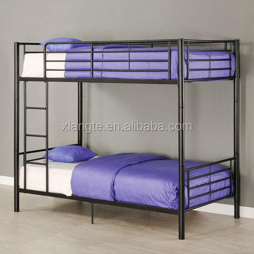 modern design steel bunk bed frame, metal frame double decker bunkmodern design steel bunk bed frame, metal frame double decker bunk bed