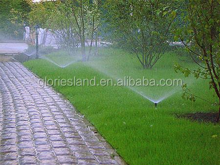 Rasen Bewässerungssystem pop up spray sprinkler für rasen bewässerung bewässerungssystem