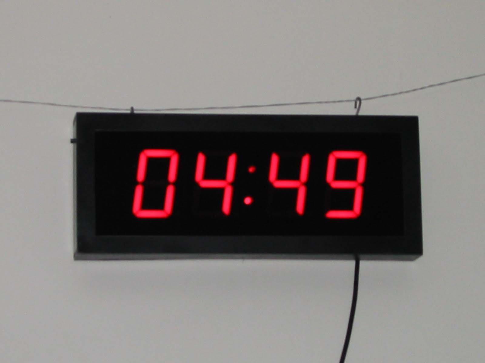 Led reloj digital relojes de escritorio y mesa for Reloj digital de mesa