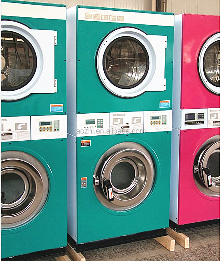 how to operate coin laundry machine