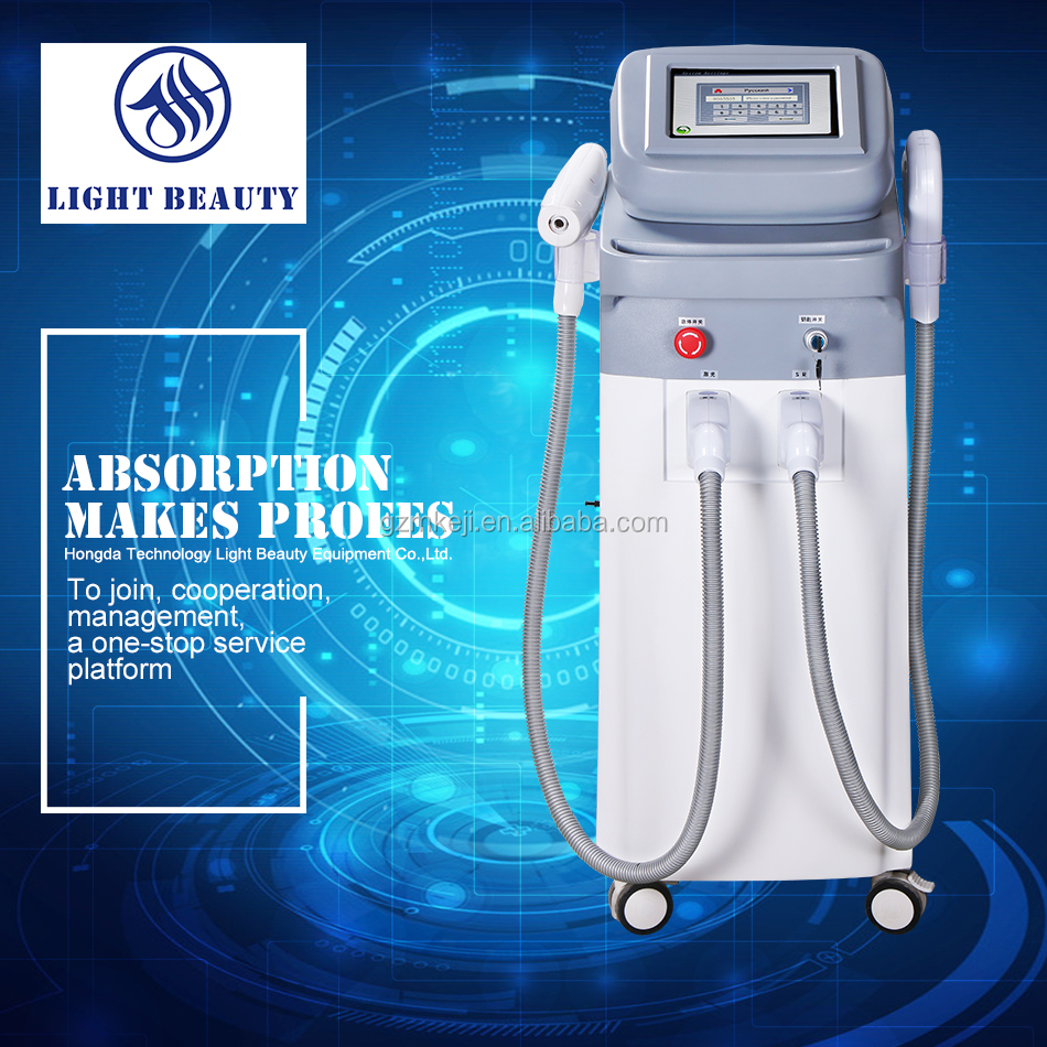 lentigo King with dispel freckle--2017 multi-function OPT beauty instrument for hot sale