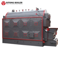DZL Horizontal Sugar Cane Bagasse Fired Steam Boiler for Gold-Mining Factory