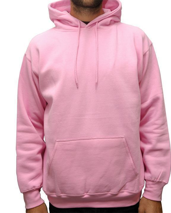Mens Pink Color Blank Fleece Hoodie Jackets - Buy Fleece Hoodie ...