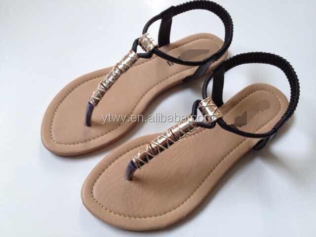 Yt 2014 Summer Latest Model Ladies Sandals Shoes