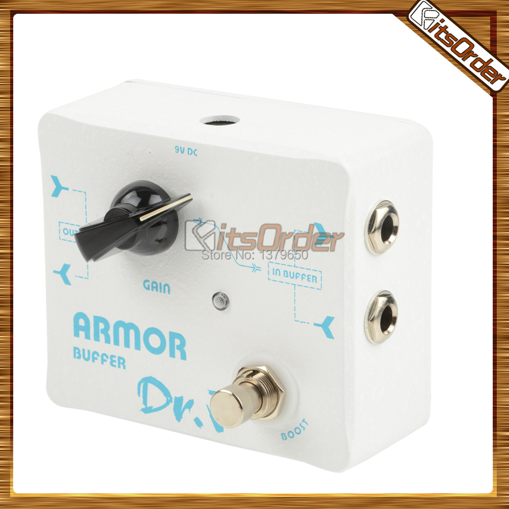 new d57 distortion guitar effect pedal white buffer and booster functions musical instruments. Black Bedroom Furniture Sets. Home Design Ideas