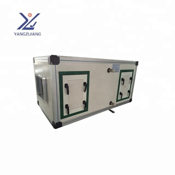 HVAC supplier,make up air conditioner crossflow erv/hrv core cooling unit,air handling unit AHU