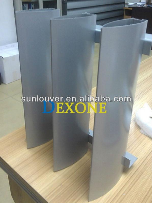 Dexone Building Sun Shade Aluminum Louvers Aluminium Exterior ...