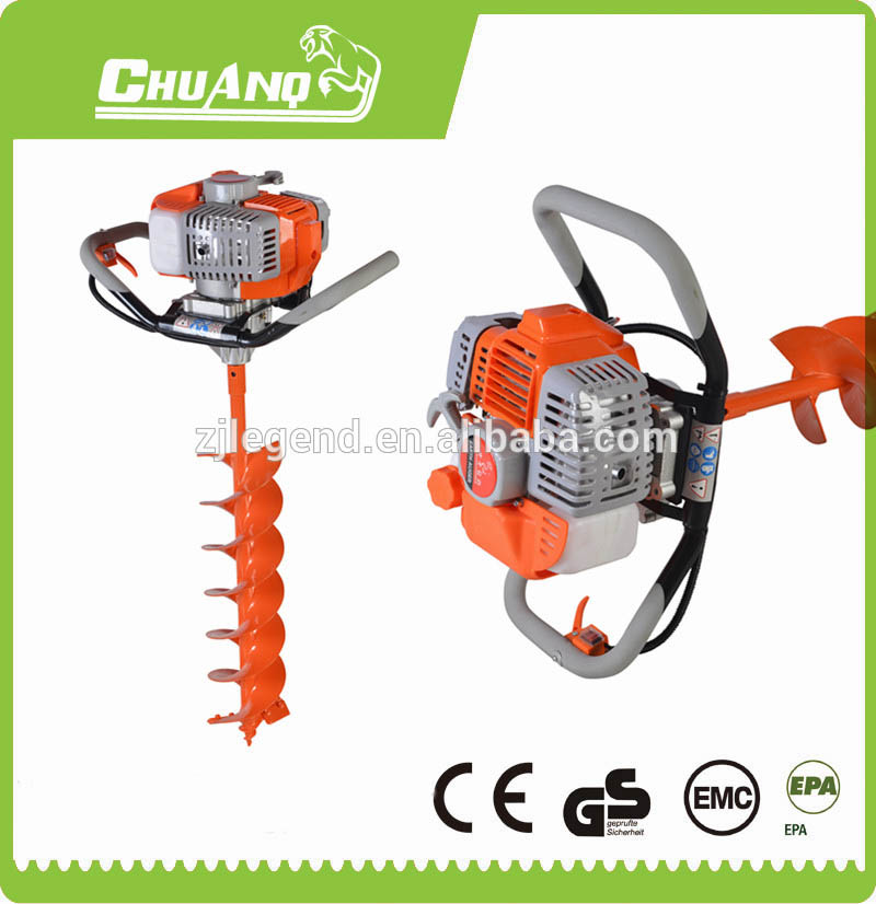 small hand digging tools drilling well machine ground drill earth auger