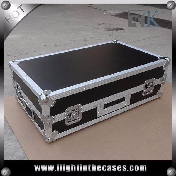 RKNS7IILW 910*570*330mm DJ flight case for NUMARK NS7II with laptop and wheels for sale