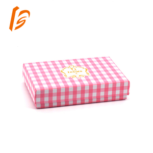 customized cardboard wallet packaging paper box wholesalers
