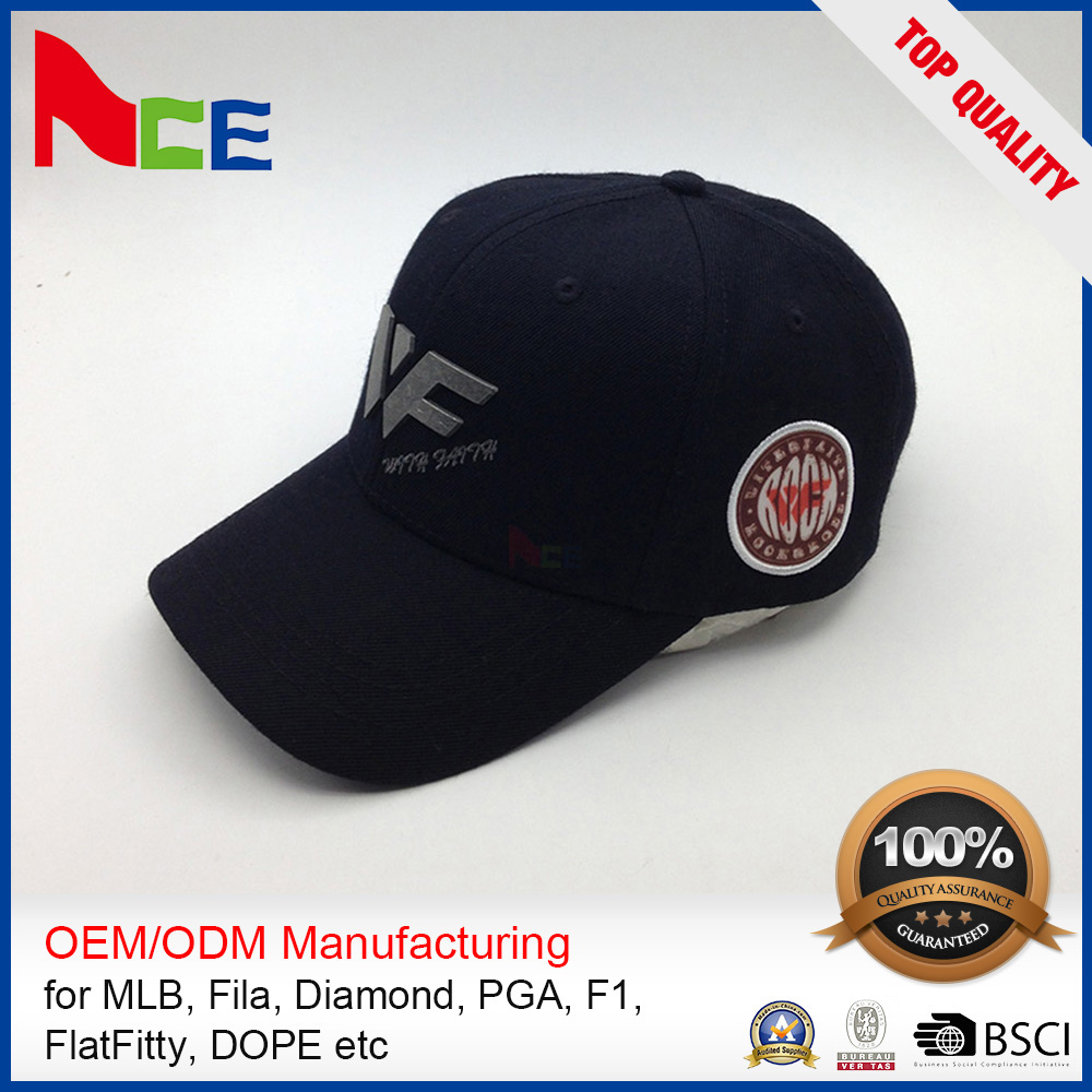 New Style High Quality Blank Hip-Hop Snapback Hats Oem Promotional Baseball Cap