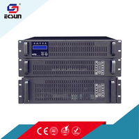 C1KRS Pure sine wave HF single phase Online Rack Mounted 1KVA UPS External Battery