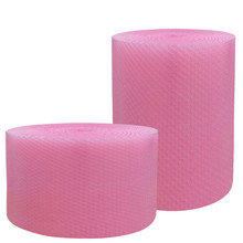 Quality transparent air bubble plastic wrap/roll for machine packaging