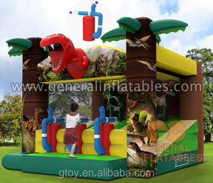 inflatable Jurassic Shoot out game,inflatable shoot game for sale