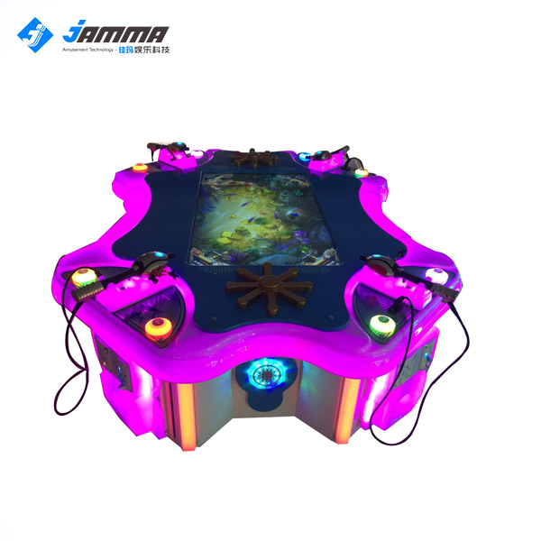 Best Sell Interesting Kids Arcade Electric Fishing Hunter Machine Catch Fish Ticket Game Machine for children