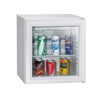 Ordinaire Customized Glass Door White Beverage Wine Cooler Mini Fridge Transparent  Door