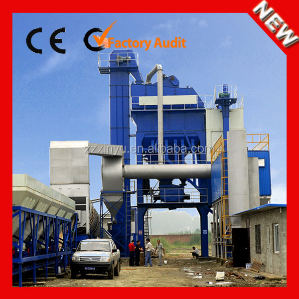 Factory Direct Sell 160t/h large scale stationary bitumen asphalt batching plants from China