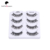 Custom private label individual eyelashes, Wholesale Mix length  human hair eyelashes extensions