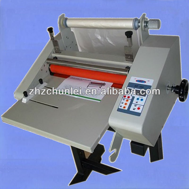 Desktop Hot Cold Laminator,Roll Laminating Machine,Double Sides