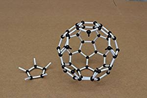 Sangdo Scientific Chemistry Carbon 60 C60 Atom Molecular Model Links Kit Set