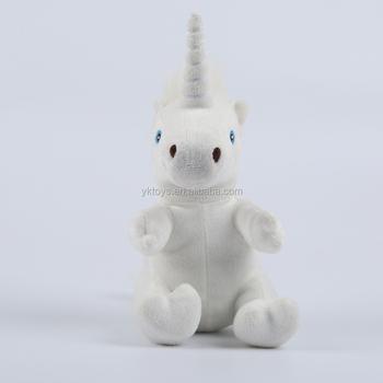 Soft White Sitting Plush Unicorn Stuffed Animal Toys For Kids Buy