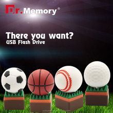 Dr.memory wholesale alibaba soccor/basketball/baseball/golf usb flash drive Free samples,best gift for sports lover