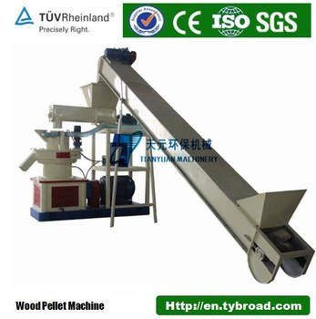 China 1-3t/h Wood Sawdust Pellet Making Machine For Sales ...