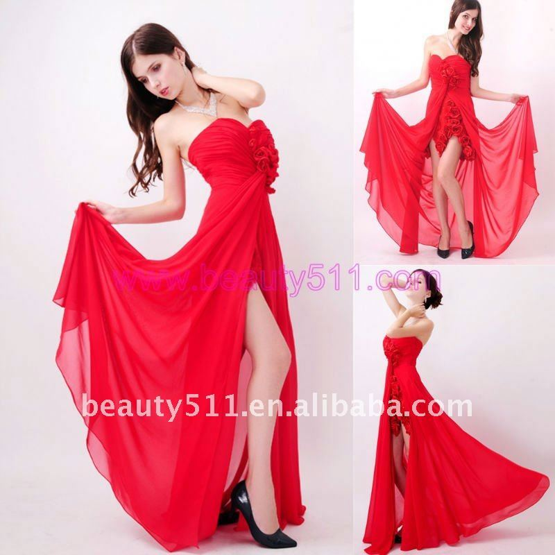 Robe classe rouge