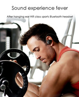 Outdoor products wireless bluetooth headset with CSR CHIP for sports