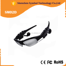 Wireless bluetooth sunglasses with headset bluetooth handfree earpthone glasses
