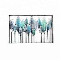 Decorative wall hanging trees art and craft frameset