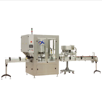 Automatic easy operate type rotary bottle filling capping and labeling machine