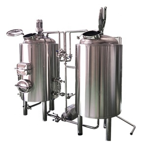 400L Red Copper Mini Craft Beer Brewing Equipment for Bar/Resteraunt/Home Brew