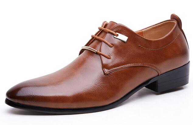 Get Quotations · NEW HOT SALE Men s unique pointed gradient color leather  shoes wedding shoes Business Shoes S18 b9476051c19b