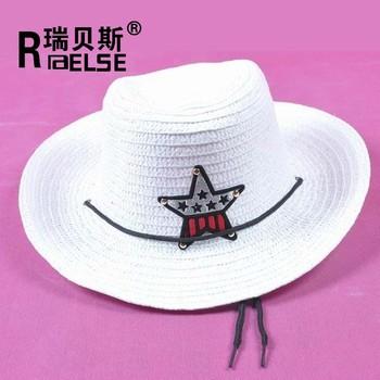 2226f041 Summer Sun Straw 6 Colours Beach Girls Boys Kids Child Western Cowboy Hat -  Buy Wester Cowboy Hat,Kids Cowboy Hat,Summer Beach Hats For Kids Product ...