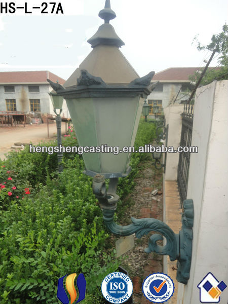 popular outdoor cast iron wall lighting