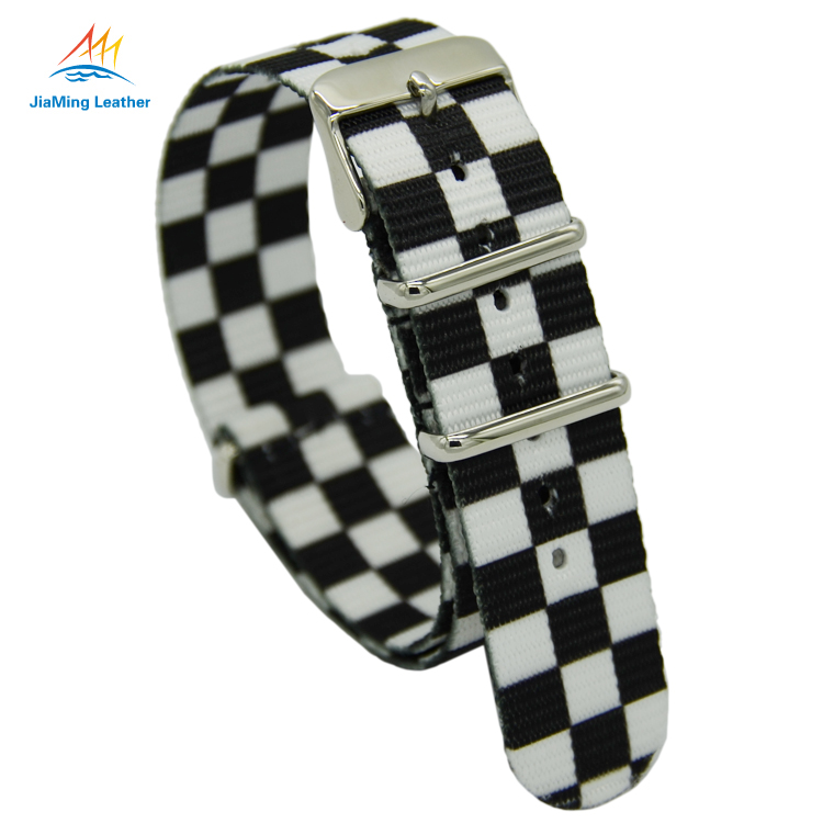 Eco-friendly waterproof nylon men's watchband /watch strap