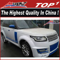PU body kit for 2014 land rover range rover vogue LA style wide body range rover vogue kit