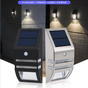 Factory Supplier Outdoor Stainless Steel Motion Sensor Solar LED Accent Light