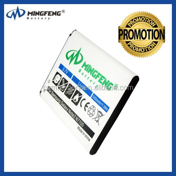 3100mah galaxy note 2 battery for samsung battery galaxy note 2 eb595675lu