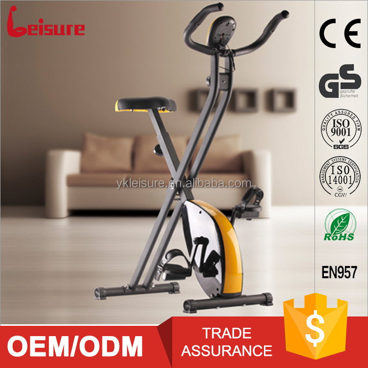 Leisure folding magnetic bike home gym equipment