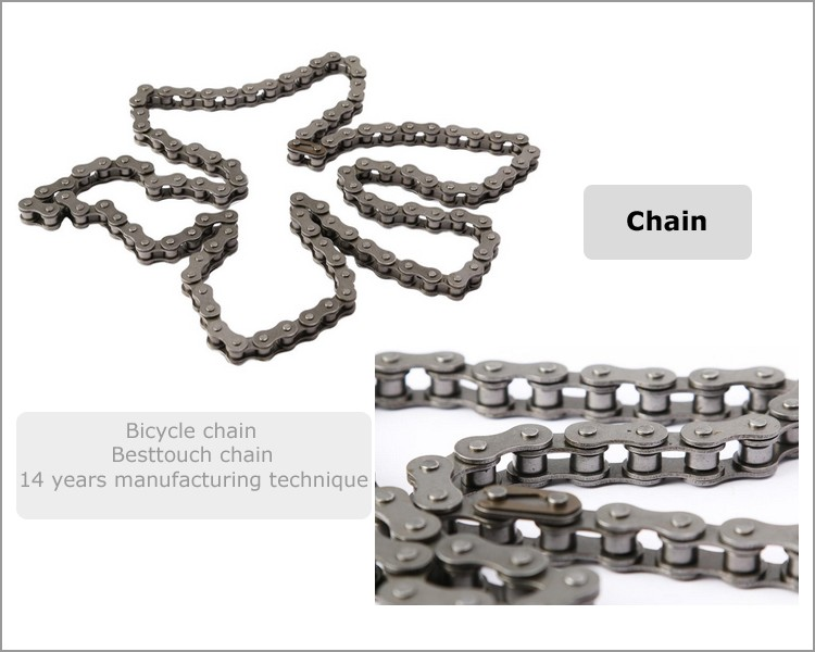 Manganese steel 415 Chain 49cc 50cc 66cc 80cc 2-Stroke motorized engine bicycle Chain
