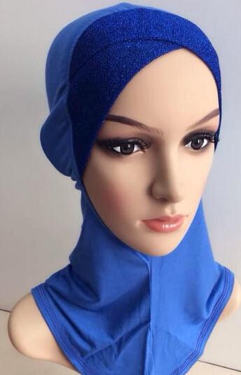 ninja underscarf glitter front cross style full head cover ...