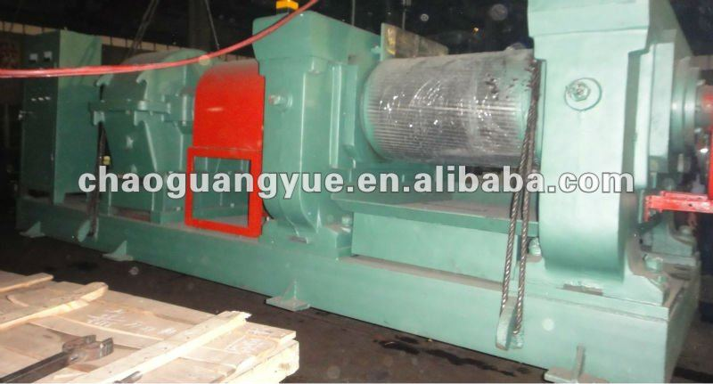 rubber cracking mill for tyre recycling/waste tire recycling machine